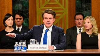 Matt Damon's 'SNL' Cameo As Brett Kavanaugh Apparently Came Together At The Last Minute