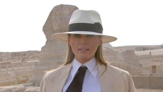Everyone Made The Same Indiana Jones Joke About Melania Trump On Twitter