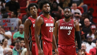 The Heat Are Once Again Ditching Their Vice Nights Jerseys After Winning Without Them Friday