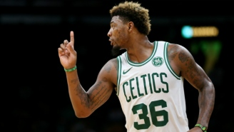 Marcus Smart And J.R. Smith Disagree On Where They Should Fight One Another