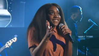 Noname Makes Her TV Debut With An Energetic 'Room 25' Medley On 'The Late Show'