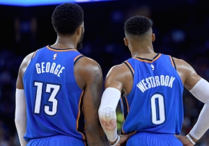 The Thunder Proposed Sending George And Westbrook To Toronto As A Leverage Play Against The Clippers