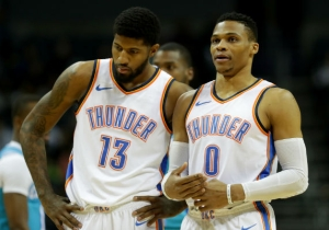 The Thunder's Summer Plans Reportedly Did Not Include Trading Paul George Or Russell Westbrook
