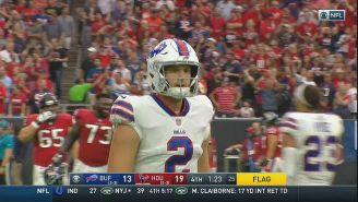 The Texans Beat The Bills Following A Pick-Six By Nathan Peterman With 90 Seconds Left