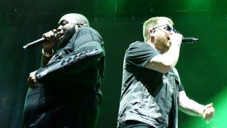 Listen To Run The Jewels' Chaotic 'Venom' Soundtrack Contribution, 'Let's Go (The Royal We)'