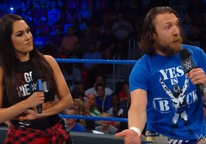 Daniel Bryan Defended Brie Bella From 'Cyberbullying' Over Accidentally Injuring Liv Morgan