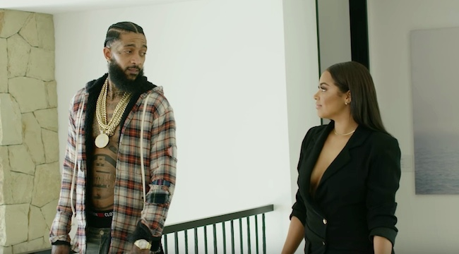 Nipsey Hussle's 'Double Up' Video Is A Slick Homage To 'ATL'