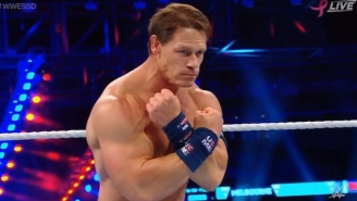 People Had No Idea What To Make Of John Cena's New Hairdo At WWE Super Show-Down