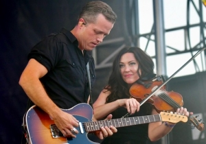 Hear Jason Isbell And David Crosby's Fiery Joint Performance Of 'Wooden Ships'
