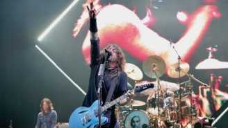 Dave Grohl Said Playing 'Smells Like Teen Spirit' Again At Cal Jam Was Like 'Being Shot Into Outer Space'
