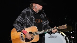 Neil Young Is Releasing A New Live Album Of Acoustic Tracks Recorded In 1976 Called 'Songs For Judy'