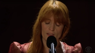 Florence And The Machine Deliver A Stunning Performance Of 'Patricia' On 'The Late Late Show'