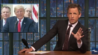 Seth Meyers Ponders 'How Much Of A Sexist D*ck' Trump Can Possibly Be