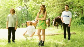 A Sparkling New Speedy Ortiz Song Called 'DTMFA' Is Out Now On Adult Swim