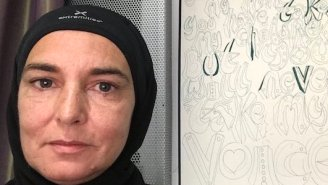Sinead O'Connor Reveals That She's Very Happily Converted To Islam