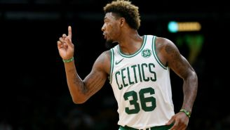 J.R. Smith And Marcus Smart Were Fined But Not Suspended For Their Preseason Scuffle