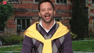 Nick Kroll Channels Brett Kavanaugh's Drinking Buddy 'Squish' To Explain 'Boofing' To Stephen Colbert