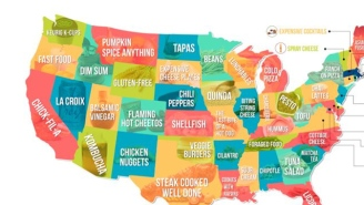 This Map Shows The Most Hated Food In Every State