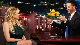 Stormy Daniels Showed Jimmy Kimmel Which Mushroom Looks Most Like Donald Trump's Junk