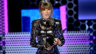 Taylor Swift Got Political Again, This Time During Her AMAs Acceptance Speech