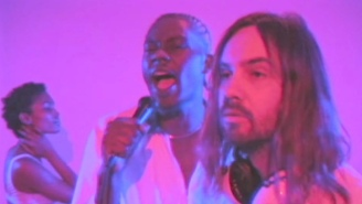 Theophilus London And Tame Impala Share A VHS-Style Video For The Nigerian Disco Cover 'Only You'