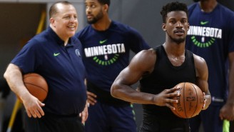 Tom Thibodeau Says Jimmy Butler 'Brought Out The Best' In The Timberwolves