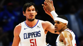 Tobias Harris And Boban Marjanovic Are Everyone's Favorite NBA Bromance