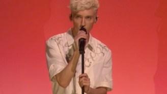 Troye Sivan Performs His Haunting New Song 'Revelation' On 'Ellen'