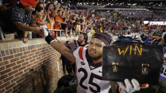 Watch Virginia Tech Come Out To 'Enter Sandman' Against Notre Dame, Because It's Always Great