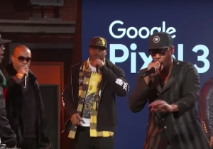Watch A United Wu-Tang Clan Perform '36 Chambers' Tracks On 'Jimmy Kimmel Live'