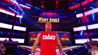 Kurt Angle's Complicated History At WWE Survivor Series