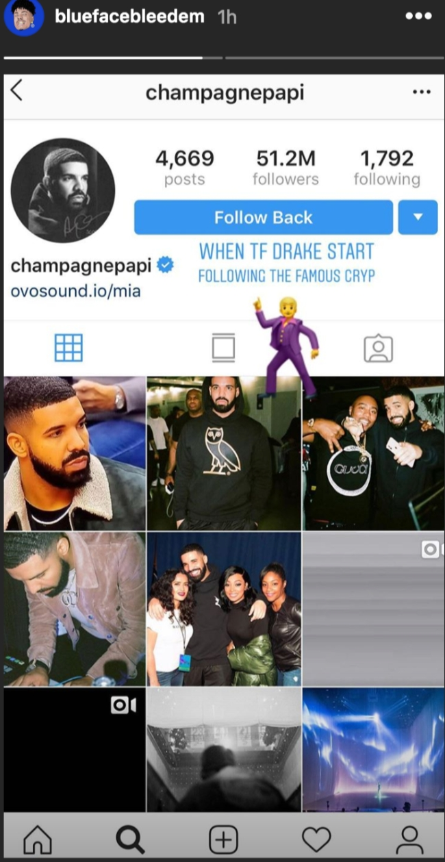 Drake And Blueface Have A Collab On The Way