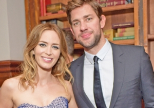 John Krasinski Admits That He Couldn't Stop Crying While Watching Emily Blunt In 'Mary Poppins Returns'