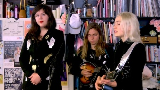 Boygenius Show Off Chemistry And Songwriting During Their Tiny Desk Performance