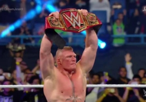 Brock Lesnar Is WWE Universal Champion Again And Might Not Defend Until WrestleMania