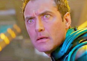 Jude Law Opens Up (As Much As He's Allowed) About The Intense Secrecy Surrounding 'Captain Marvel'