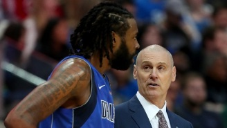 Rick Carlisle Shot Down The Rumors About DeAndre Jordan's Fit In The Most Forceful Way Possible