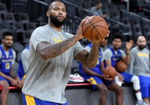 DeMarcus Cousins Will Be Officially Active for Game 1 Of The NBA Finals