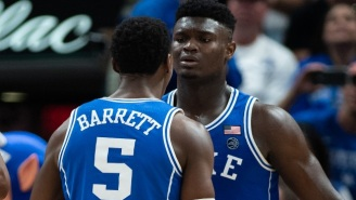 Zion Williamson Reportedly Won't Play Against Syracuse Due To His Knee Injury