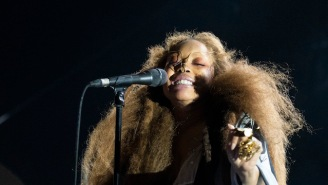 Erykah Badu Says 'Money Can't Buy Me Love' In A New Song She Debuted In An Eclectic Live Mix