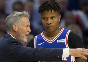 Brett Brown Says There Are A 'Pyramid Of Layers' To Figuring Out Markelle Fultz's Struggles