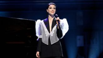 St. Vincent Delivers A Showstopping Cover Of Lou Reed's Iconic 'Perfect Day' In Brooklyn
