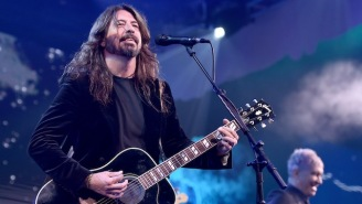 Dave Grohl Barbecued For The Firefighters Battling California's Devastating Wildfires