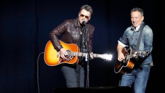 Watch Bruce Springsteen's Stripped Back Duet With Eric Church At His Annual Veteran's Benefit Concert