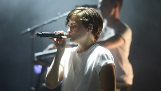 Listen To Christine And The Queens' Soulful, Sexy Cover Of Rihanna's 'Kiss It Better'