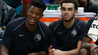 Jimmy Butler Chartered A Private Jet For Tyus Jones To Watch His Brother's Duke Debut