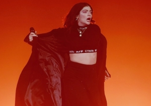 Lorde Publicly Called Out Kanye West And Kid Cudi For 'Stealing' Her Recent Concert Stage Design