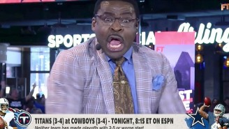 Michael Irvin Got Extremely Sweaty And Mad Arguing About The Cowboys With Stephen A. Smith