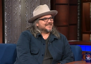 Watch Jeff Tweedy Debut 'Let's Go Rain' And Talk About Wilco's 'Star Wars' Album On 'Colbert'