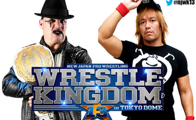 Here's How AXS TV Will Broadcast Wrestle Kingdom 13